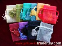 Different Kinds of Organza Gift Bags With Logo Ribbon Drawstring