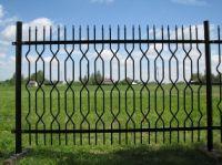 Wrought Iron fences and gates.