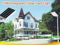 15W All-in-One Integrated Solar Street Light