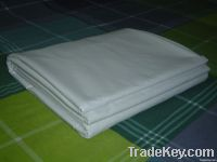 All White 100% Cotton Flat Bed Sheets