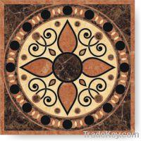 Mosaic, water jet, medallion
