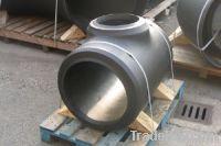 DIN2616 carbon steel seamless tee