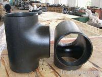 ansi b 16.9 astm a105 butt weld carbon steel weld tee factory