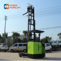 1.5ton, 2ton, 2.5ton 4 way/4 direction electric reach forklift truck for long materials