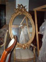 reproduction antique mirror