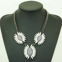 2014 New Hot-Sell Women Beaded Charm Pendant  Necklaces