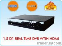 1.5D1 Real Time DVR With HDMI