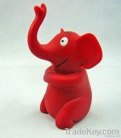 PVC cartoon elephant figure