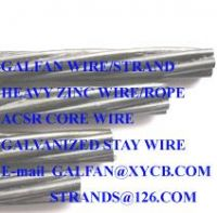 Galvanized steel wire/strand ASTM A475 CLASS C