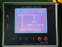 Load Moment Indicator for luffing crane