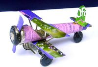 Airplans tin cars