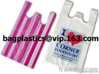 Carrier bags, T shirt bags, shopping bags, vest carrier, C Fold, Sack