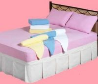 Terry & Jersey knitted fitted bedsheets & terry towels