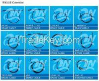 MOTORCYCLE CABLE FOR COLOMBIA PERU BRAZIL
