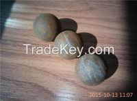 65MN and 75MNCR material forged grinding ball