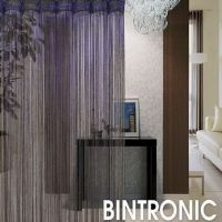 Motorized String Curtains with LED