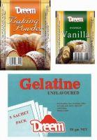 Baking Powder, Vanilla, Gelatin