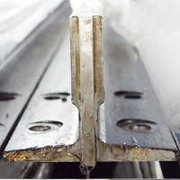 elevator lift rail