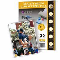 Quality photo glossy paper plus