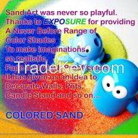 Colour sand