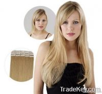 human tape hair extension skin weft  hair pieces and men wigs
