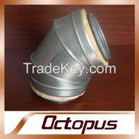 Galvanized Steel Ventilation Duct Elbow Bend