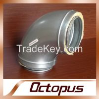 Galvanized Steel Ventilation Duct Elbow Bend