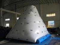 giant inflatable icebery/inflatable amusement floating island