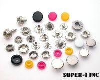 snap button, snap fastener, button fastener, metal fastener
