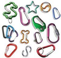 carabiner, aluminum carabiner, aluminum hook, carabiner key chain