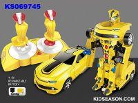 1:14 2.4G REMOTE CONTROL CAR A KEY MODIFICATION BUMBLEBEE