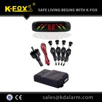 parking sensor system with LED display