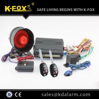 car alarm system KD2000 with basic function