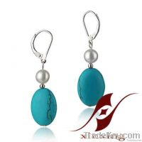 Fashion jewelry earrings for pearl jewelry