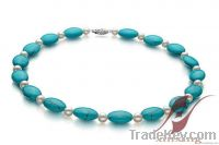 New arrived fashion jewelry for pearl necklace and turquoise necklaces