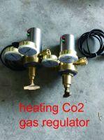 Heating co2 gas regulator