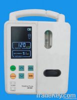IV infusion pump with drug library