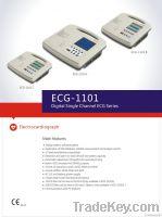 Digital twelve channel ECG machine