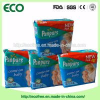 Extrathin Soft & Breathable OEM Disposable Baby Diaper in Vecro Type and Big Waist Band