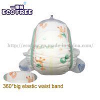 Extra Thin Soft Breathable & High Absorbency Disposable Baby Diaper in Hook & Loop Tapes