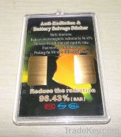 Energy saving anti radiation phone sticker