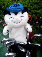 Cat Jacob Golf Head Cover