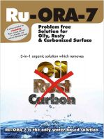rust ,oil and carbon remover