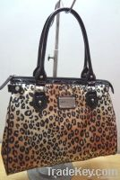 Leopard tote handbag
