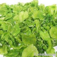 dried lettuce slice