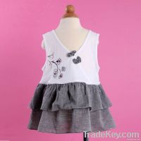 New Babies Girls Princess Skirt No- sleeves