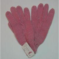 New Women 100% cashmere wool winter pink fingers 1272