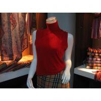 New Lady sleeveless cashmere vest sweater 1266