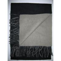 Hot sales in winter 100% lambswool grey scarf Y-09206