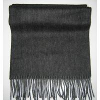 2013 New Men Black fringes lambswool scarf Y-09226